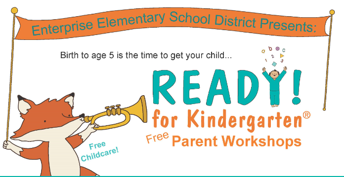 READY! for Kindergarten FREE Parent Workshops